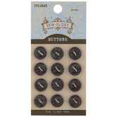 Purple Mix Round Buttons