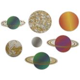 Solar System Paper Shapes