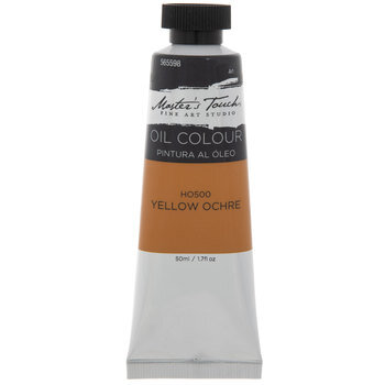Yellow Ochre Master's Touch Oil Paint - 1.7 Ounce