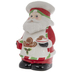Chef Santa Cookie Jar