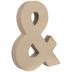 Paper Mache Ampersand - 8 1/4