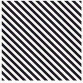 "Black & White Diagonal Striped Scrapbook Paper - 12"" x 12"""