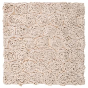 Roses Linen Pillow Cover