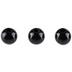Black Round Beads - 6mm