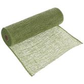"Green Deco Mesh Ribbon - 10"""