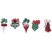 Christmas Ornament Shank Buttons