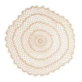 Round Natural Doily - 11 3/4""
