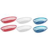 Red, White & Blue Serving Baskets