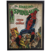 The Amazing Spider-Man Framed Wood Wall Decor