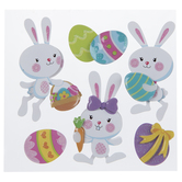 Easter Bunny 3D Stickers