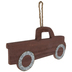Red Rustic Truck Wood Wall Decor