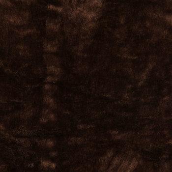 Chocolate Faux Bruin Fur Fabric