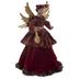 Burgundy Angel Tree Topper