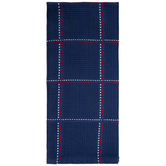 Red, White & Blue Plaid Stitched Kitchen Towel