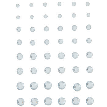 Faceted Rhinestone Stickers