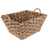 Woven Rush Basket
