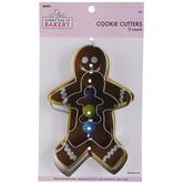 Gingerbread Man Metal Cookie Cutters