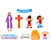 Inspirational Kids Foam Stickers