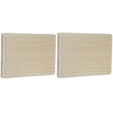 "Rectangle Wood Plaques - 5"" x 7"""