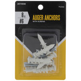 Auger Anchors With Screws