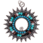 Beaded Burst Pendant