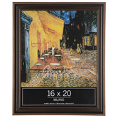 """Antique Gold Beveled Wood Wall Frame - 16"""" x 20"""""""