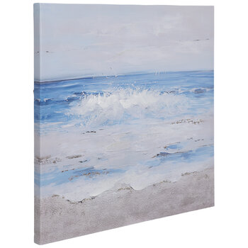 Embellished Ocean Canvas Wall Decor