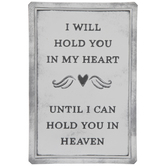 Heart & Heaven Metal Sign