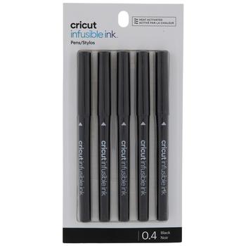 Black Cricut Infusible Ink Pens - 5 Piece Set