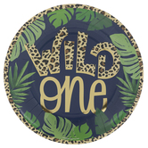 Wild One Safari Paper Plates