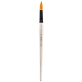 Premium Gold Taklon Round Paint Brush