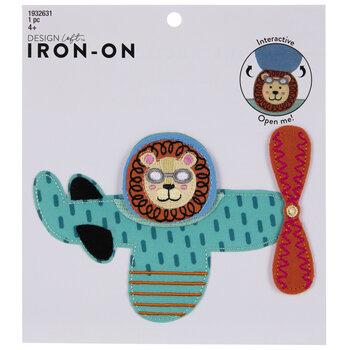 Flyin' Lion Iron-On Applique