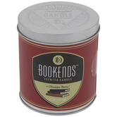 Bookends Candle Tin