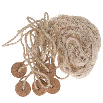Natural Fishing Net With Cork