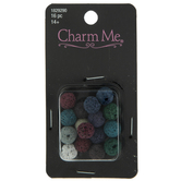 Assorted Lava Bead Charms