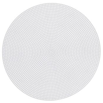 "7-Mesh Circle Plastic Canvas Shape - 9 1/2"""