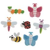 Glitter Bug Foam Stickers