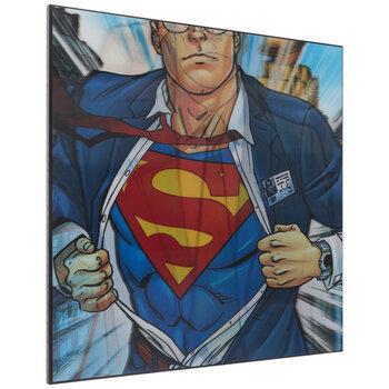 Superman Alter Ego Lenticular Wood Wall Decor