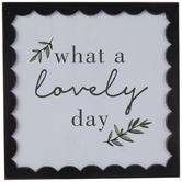 What A Lovely Day Wood Wall Decor
