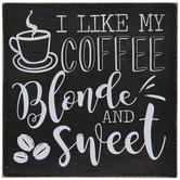 Coffee Blonde & Sweet Wood Decor