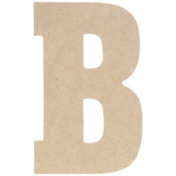 "Wood Letter B - 5"""