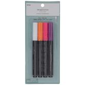 White, Orange, Pink & Violet Chalk Markers - 4 Piece Set