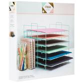 Mint Paper Storage Rack
