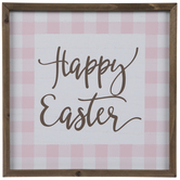 Happy Easter Wood Wall Decor