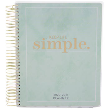 2020 - 2021 Keep Life Simple Planner - 18 Months