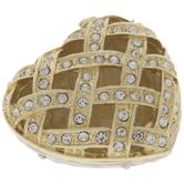 Woven Heart Jewelry Box