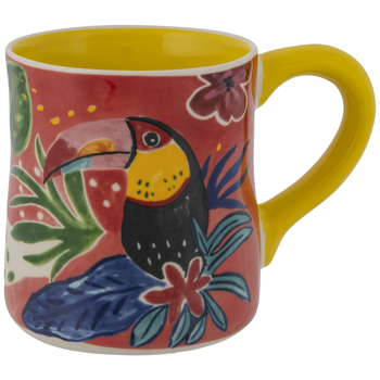 Abstract Toucan Mug