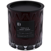 Vanilla & Berry Amber Jar Candle