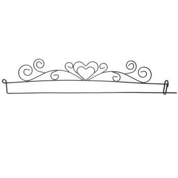 Heart Needle Art Hanger