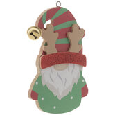 Reindeer Hat Gnome Ornament